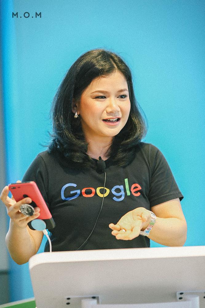 คุณแพน—พรรณริณี ทิมา ผู้เชี่ยวชาญด้านโซลูชั่น Google ประเทศไทย