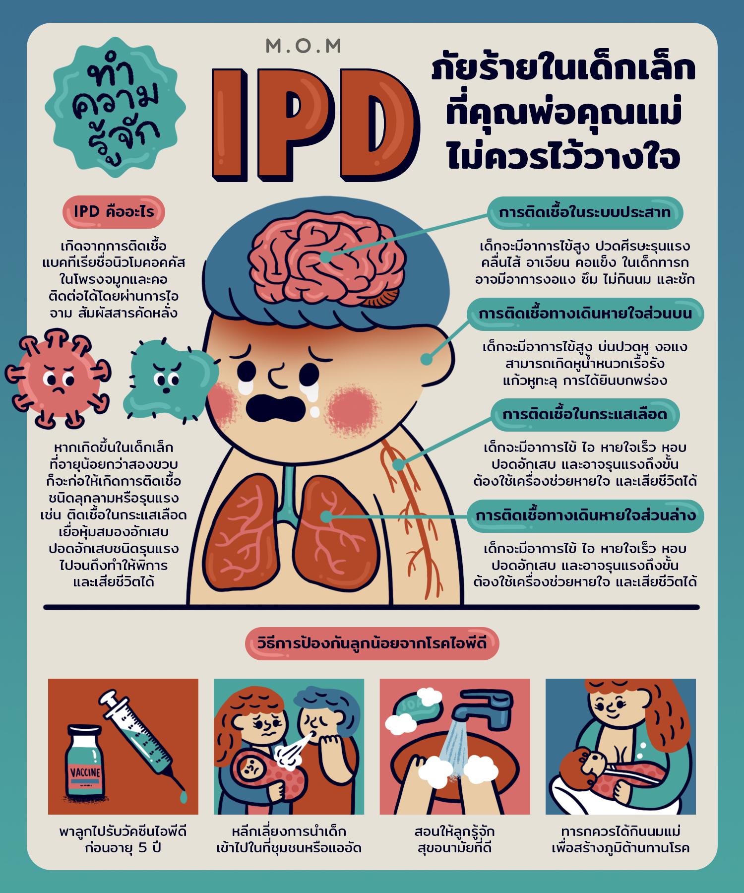 โรคติดเชื้อไอพีดี IPD ภัยร้ายในเด็กเล็ก IPD ภัยร้ายในเด็กเล็ก