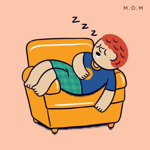 นอนหลับพักผ่อน