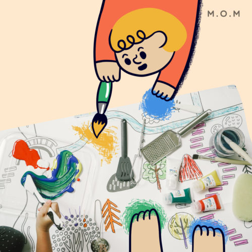 PLAY PLEARN KID WITH M.O.M
